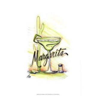 Drink upMargarita Poster Print by Jay Throckmorton (13 x 19)