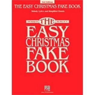 Hal Leonard Hal Leonard The Easy Christmas Fake Book 2nd Edition   TVs