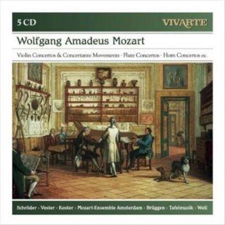 Movements; Flute Concertos; Horn Concertos; Etc.