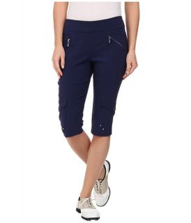 Jamie Sadock Skinnylicious 24 in. Knee Capri Nocturnal Navy Blue
