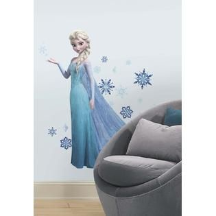 RoomMates Frozen Elsa Peel and Stick Giant Wall Decals