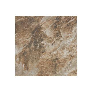 FLOORS 2000 5 Pack Villa Rica Coffee Glazed Porcelain Floor Tile (Common: 18 in x 18 in; Actual: 17.603 in x 17.603 in)