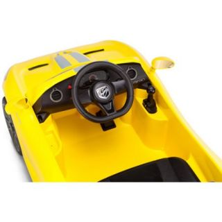 Kid Trax SRT Dodge Viper GTS 6 Volt Battery Powered Ride On, Yellow