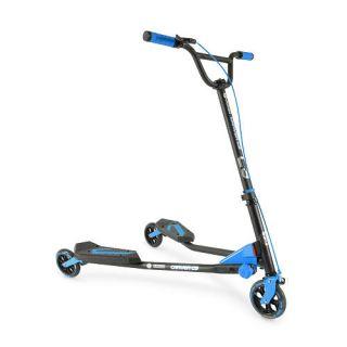 Boys Y Fliker C3 Carver Series Blue Scooter    Yvolution