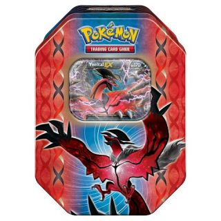 Pokemon Trading Card Game Yveltal EX Booster Pack with Collectable Tin