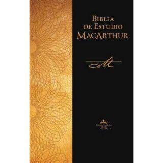 Biblia de Estudio MacArthur / MacArthur Study Bible: Reina Valera 1960