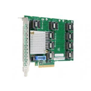 HPE   Storage contoller upgrade card   26 Channel   SATA 6Gb/s / SAS 12Gb/s   12 GBps   PCIe   for HPE ProLiant ML350 Gen9, ML350 Gen9 Base, ML350 Gen9 Entry, ML350 Gen9 Performance (769635 B21)