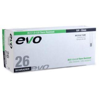 EVO Thorn Resistant Bicycle Tube   26 x 1.5/2.0   32mm Shrader Valve (26 x 1.5/2.0   32mm Shrader Valve)