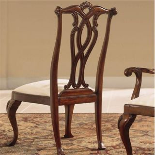 American Drew 792 654 Cherry Grove 45th Back Pierced Side Chair in Classic Antique Cherry