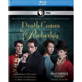 Masterpiece Mystery!: Death Comes to Pemberley [Blu ray]