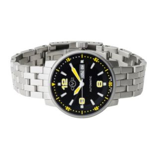 GV2 by Gevril Stainless Steel Watch   Automatic Swiss Movement 97109 72