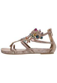 Alma en Pena T bar sandals   bronze
