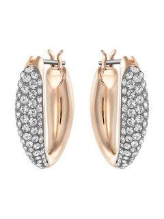 Swarovski Circlet Hoop Pierced Earrings