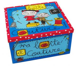 Box   Sewing Sewing   Blue by 100drine pour Sentou Edition