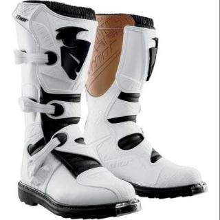Thor Blitz 2015 MX/ATV Boots White MX