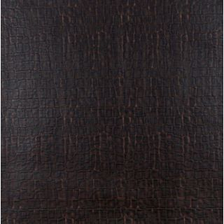 G261 Dark Brown, Crocodile Upholstery Faux Leather   17425337