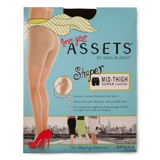 ASSETS® by Sara Blakely a Spanx® Womens Mid Thigh Shaper 870B