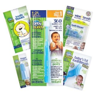 Baby Buddy Infant Oral Care Set   Blue