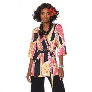 """Nikki by Nikki Poulos """"Gail"""" Kimono with Obi Sash   8056607"""