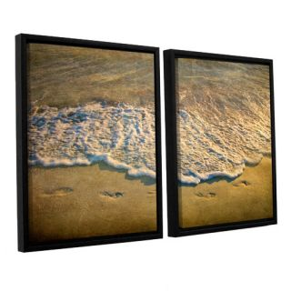At Waters Edge by Antonio Raggio 2 Piece Floater Framed Photographic