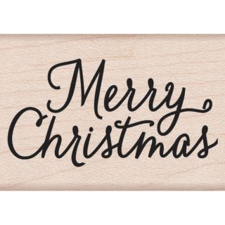 Hero Arts Mounted Rubber Stamps 2X1.5 Merry Christmas   14975823