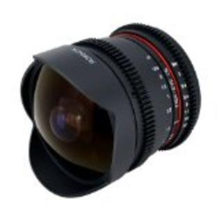 Rokinon RK8MV  8mm T3. Cine Fisheye Lens for EF Mount Focus Lens Clean