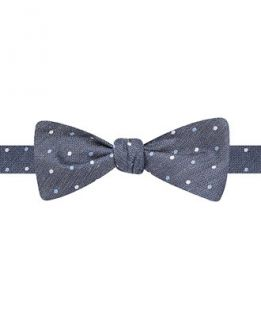 Ryan Seacrest Distinction Pasadena Dot Self Tie Bow Tie   Ties