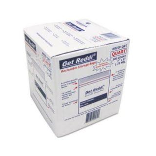 "Inteplast Group Food Bags, 1 Gal, 1.75 Mil Plastic, 10 9/16"" X 11"","