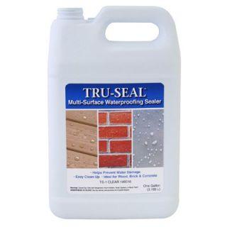 Tru Seal Multi Surface Waterproofing Sealer, Clear, 1 Gal.: Model# TS1 GL