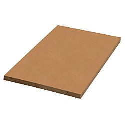 Brand 100percent Recycled Material Kraft Corrugated Sheets 30 x 30  Pack Of 20