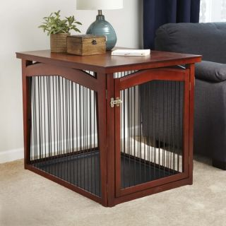 Merry Products 2 in 1 Configurable Pet Crate and Gate   16271219