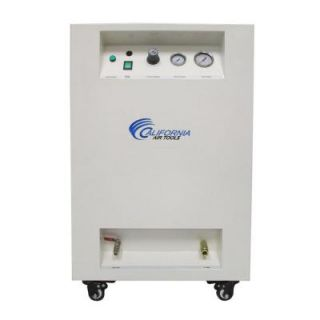 California Air Tools 8 Gal. 1 HP Ultra Quiet and Oil Free Air Compressor in Sound Proof Cabinet 8010SPC