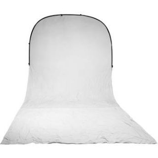 Impact Super Collapsible Background   8 x 16 (White) BGSC W 816