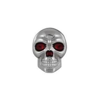 Pilot Automotive TT 075 Skull Emblem   Chrome