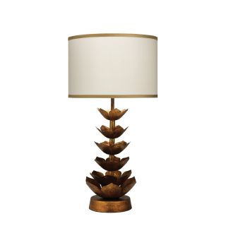 Jamie Young Company Flowering Lotus 29 H Table Lamp with Drum Shade