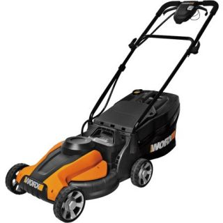 """WORX WG775 14"""" Cordless Electric Powered Lawn Mower"""