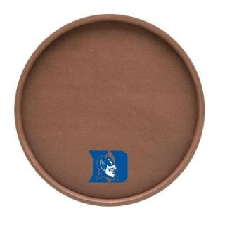 Kraftware Duke 14 in. Football Texture Deluxe Round Serving Tray 20130F