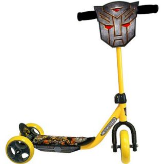 Transformers 3 Wheeled Kick Scooter