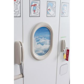 Cilek First Class Airplane Extra Twin Upholstered Customizable Bedroom