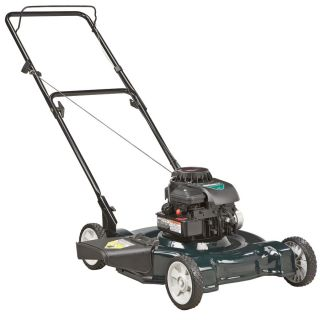 Bolens 158 cc 22 in Side Discharge Gas Push Lawn Mower with Briggs & Stratton Engine