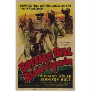 Buffalo Bill Rides Again Movie Poster Print (27 x 40)
