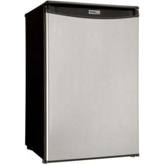 Danby Designer 4.4 cu ft Compact All Refrigerator, Spotless Silver
