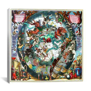 Antique Maps Harmonia Macrocosmica by Andreas Cellarius Graphic Art