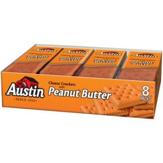Austin® Cheese Crackers with Peanut Butter 8 1.38 oz. Packages