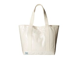 TOMS Shiny Coated Canvas Tote Natural