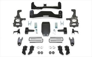 Fabtech   Fabtech 4 Inch Basic Crossmember System K2186   Fits 2010 to 2013 Ford F150 SVT Raptor 4WD