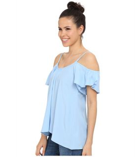 Lucy Love Hollie Top Serenity Blue, Clothing, Blue, Women