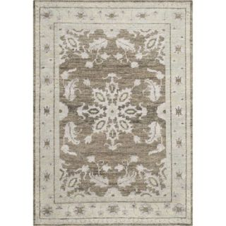 Safavieh STW216A Stone Wash Wool Viscose Cotton Hand Knotted Charcoal Rug