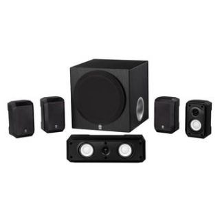 Yamaha NS SP1800BL 5.1 Channel Home Theater System NS SP1800BL