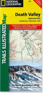 Trails Illustrated Death Valley National Park Trail Map   California